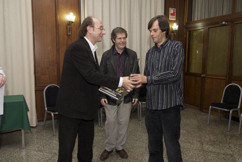 I en Miquel Sesé, el guanyador del torneig