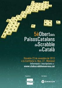 Cartell 5è Obert dels Països Catalans